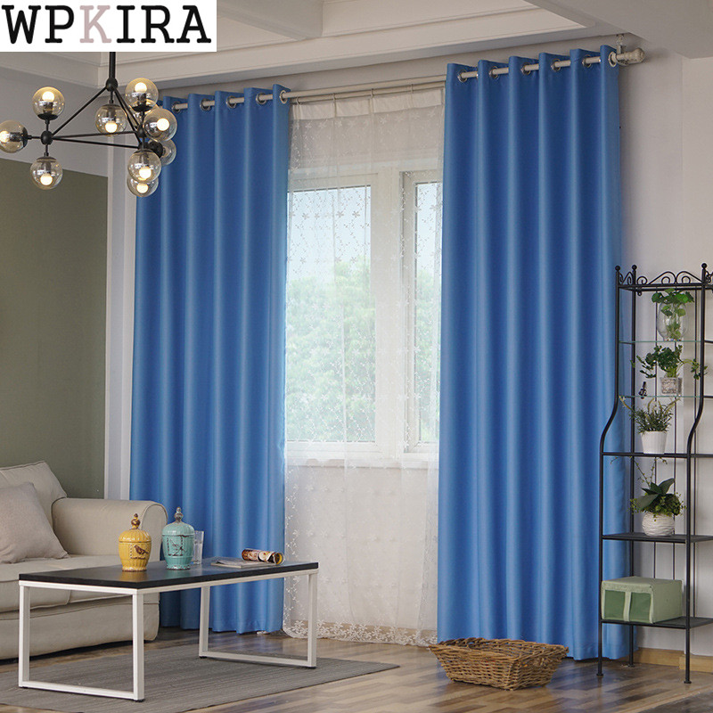 Aliexpress.com : Buy New Fabric Solid Curtains For Living