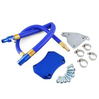 6.6L Exhaust Gas Beredar Pipa Kit untuk 11-15 Chevrolet/GMC Duramax Stainless Steel EGR Valve Pendingin Menghapus kit Y40