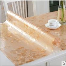 2017 neue PASAYIONE Weichglas Tischtuch Wasserdichte PVC Matten Für Esszimmer Dekoration Kunststoff Pads Toalha De Mesa Tablerunner