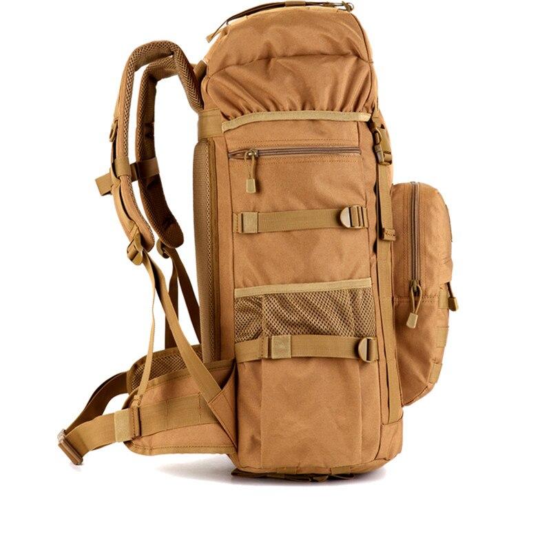 Sac à dos tactique militaire 50L sacs de Camping de grande capacité sac d'alpinisme sac à dos de randonnée pour hommes sac à dos de voyage - 3