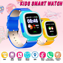 B2 GPS Kid Smart Watch Baby Anti-lost Watch with Wifi Touch Screen SOS Call Location Device Tracker for Children Safe Monitor цена