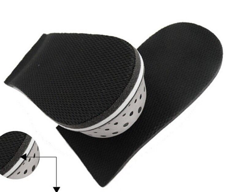 1Pair WomenMan Gray Foam Shoe Insole 2.3CM Height Increase Insoles Heel Lift Insert Shoe Pad Taller Insole