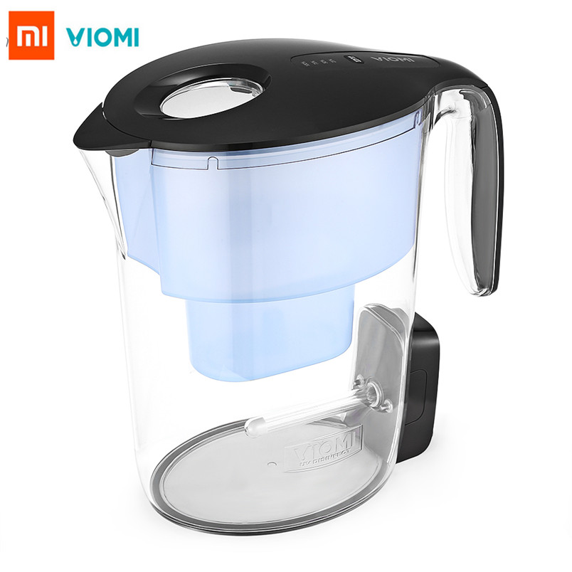 Оригинальный XIAOMI VIOMI VH1Z-A умный УФ Дезинфекция мульти эффект фильтры для воды кувшин Xiaomi очиститель воды для домашнего офиса