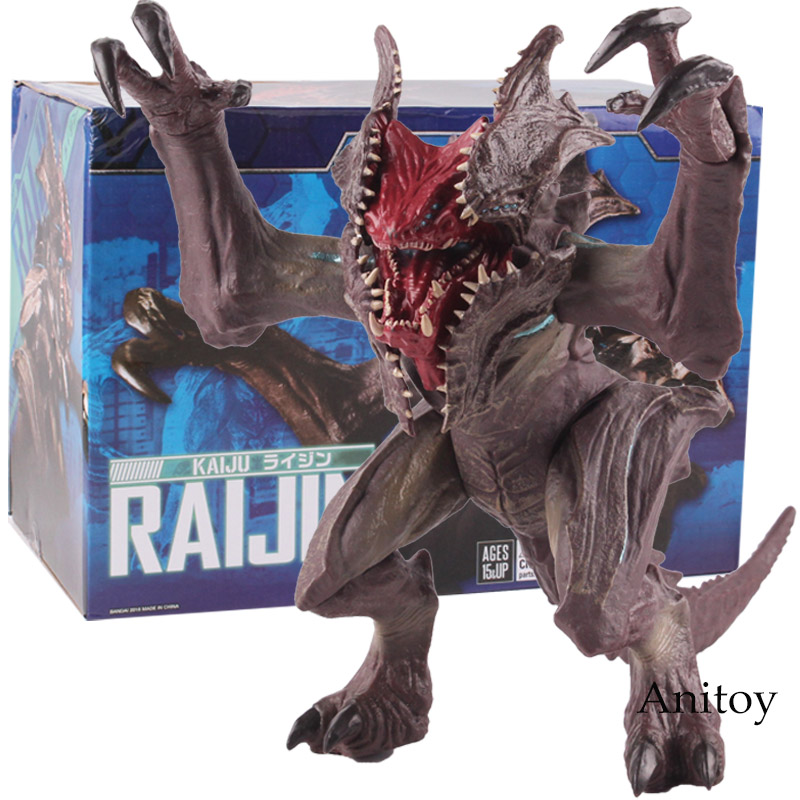 PacificRim Uprising SOFVI Kaiju Raijin Pacific Rim Uprising Toys PVC Action Figure Collectible Model Toy Model Figures