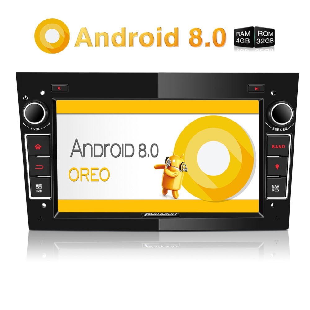 Pumpkin 2 Din7''Android 8.0 Octa-core 4GB RAM 32G ROM Car Radio No DVD Player GPS Navigation Stereo Audio For Opel/Vectra/Astra