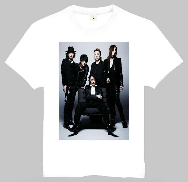 Japan Rock Band Luna Meer T-shirt Gute Qualität Weiß Kurzarm Luna Meer...
