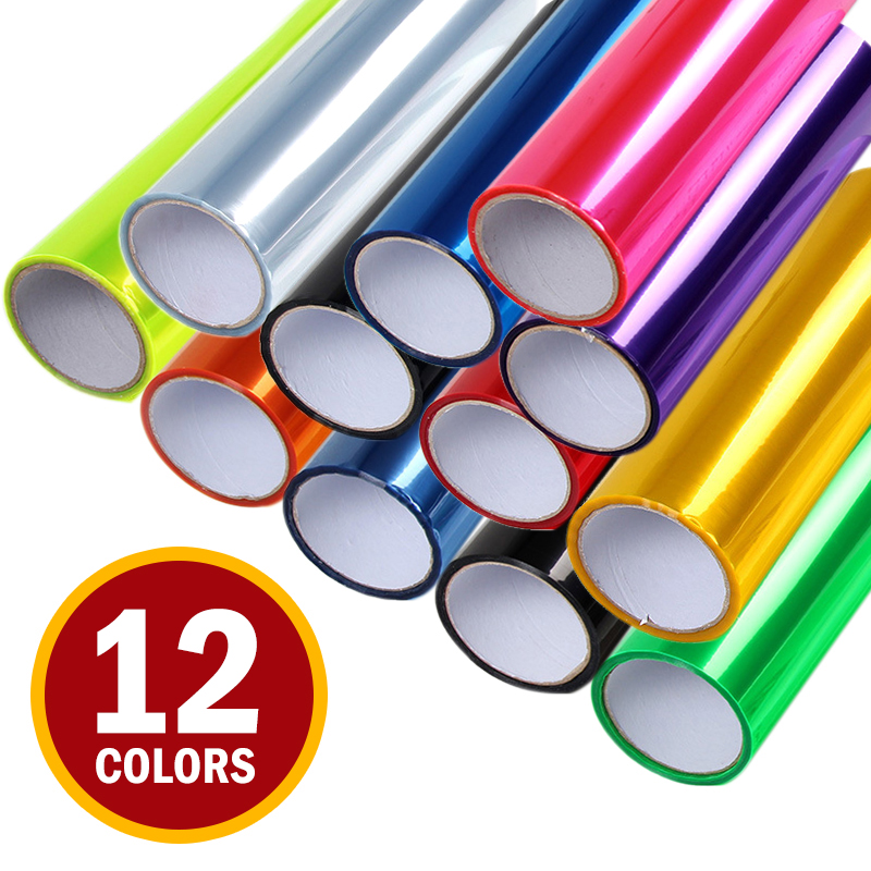 2019 New Car Lights Sticker Color Change Wrap Sheet Roll Film Car Stickers Decals Styling Exterior Accessories 30*60cm/100cm