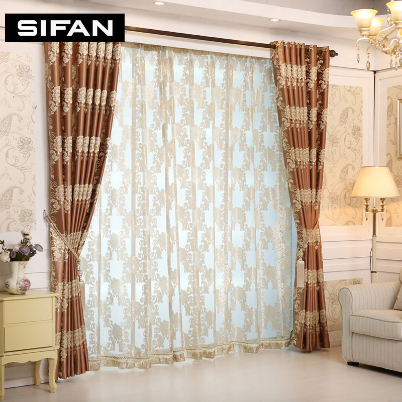 Merveilleux European Royal Luxury Jacquard Curtains For The Bedroom Window Curtains For  Living Room Fancy Blinds Drapes In Curtains From Home U0026 Garden On  Aliexpress.com ...