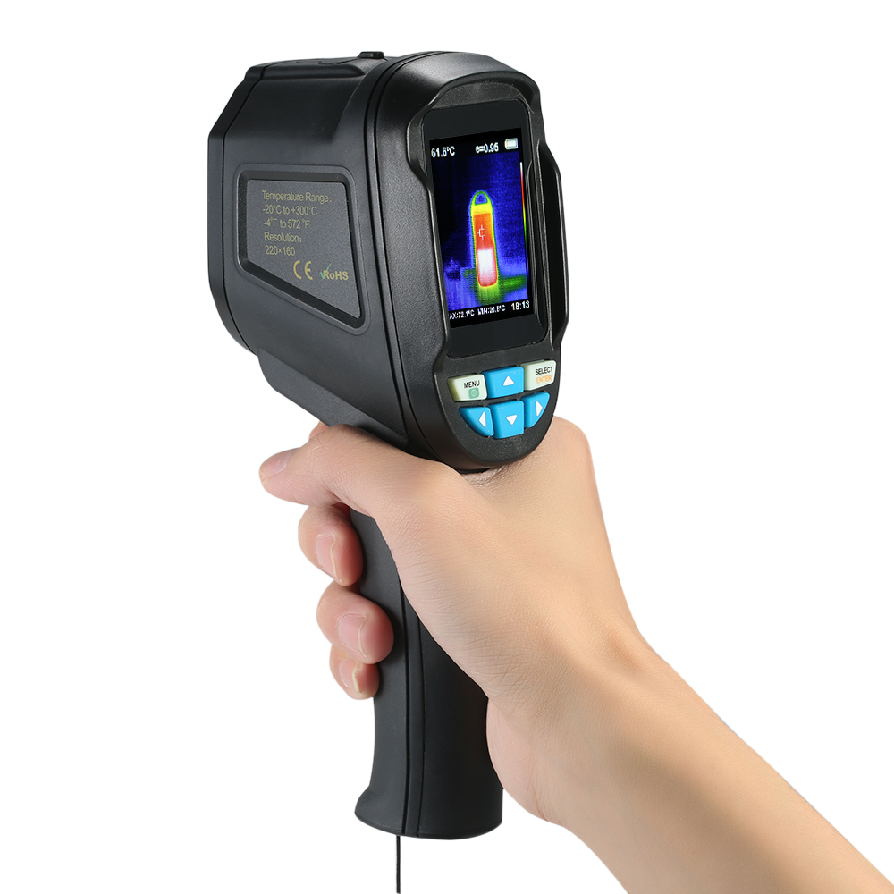 Professional Handheld Thermal Imaging Camera 2 4 Quot Ht 04