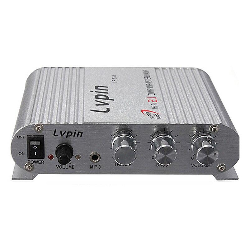 CES Pour LVPIN Hifi Audio Stéréo Super Basse Amplificateur Amp Mp3 pour Auto Moto Bateau 12 v