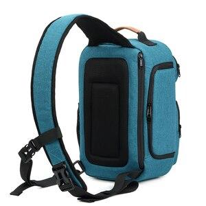 Image 4 - Flyleaf FL 345 # bolsa para cámara Digital SLR mochila para hombre bolsa impermeable para cámara de mensajero profesional bolsa antirrobo