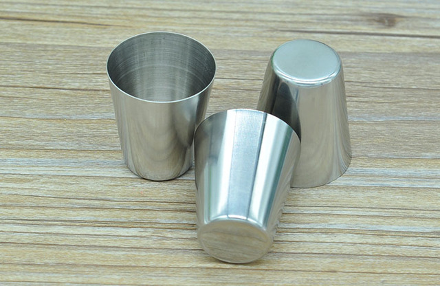 wholesale Stainless steel shot glass 28 ML DHL Fedex Free Shipping