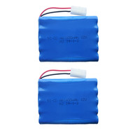 2pc 12v Battery 1400mah Ni Cd 12v Aa Nicd Batteries Aa Battery Pack Ni Cd Rechargeable