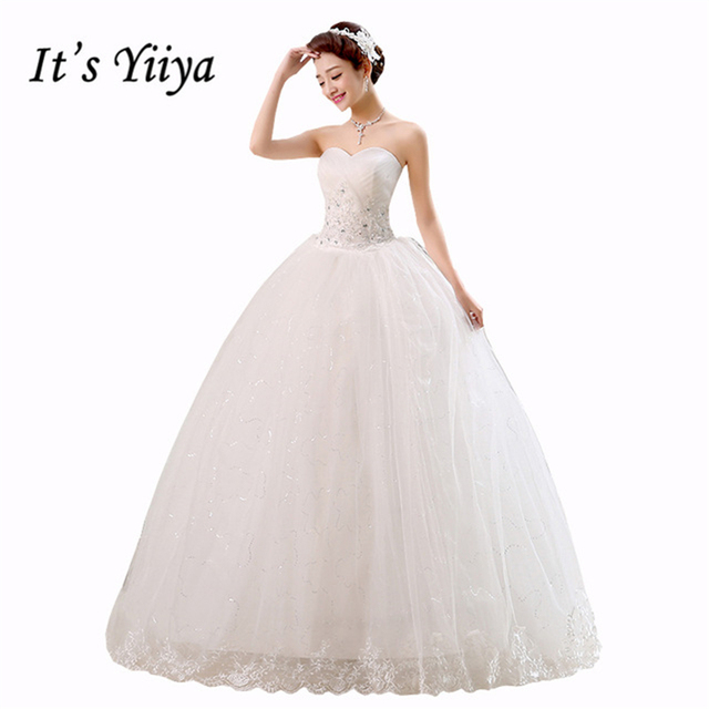 Free Shipping 2017 Cheap Price Under 50 Wedding Dresses Design White Wedding  Gown Fashion Wedding Dress