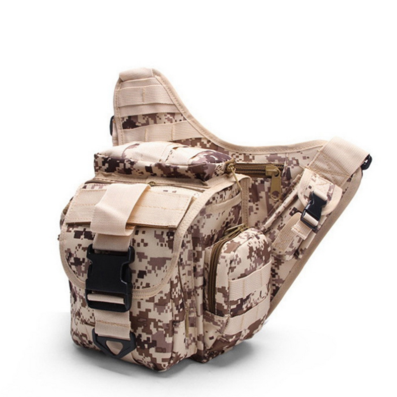 9Colors 600D Oxford Outdoor Camping Storage Picnic Bag Waist Leg Bag Waterproof Camouflage Sports Camping Knife Attachment Tool