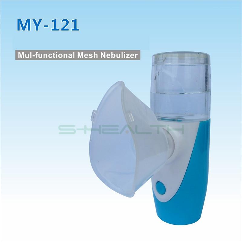 2016 Casa di Assistenza Sanitaria IL MIO-121 Ricaricabile Portatile Nebulizzatore Automizer Mini Nebulizzatore Per La Cura Dei Bambini Palmare Inalare Nebulizzatore