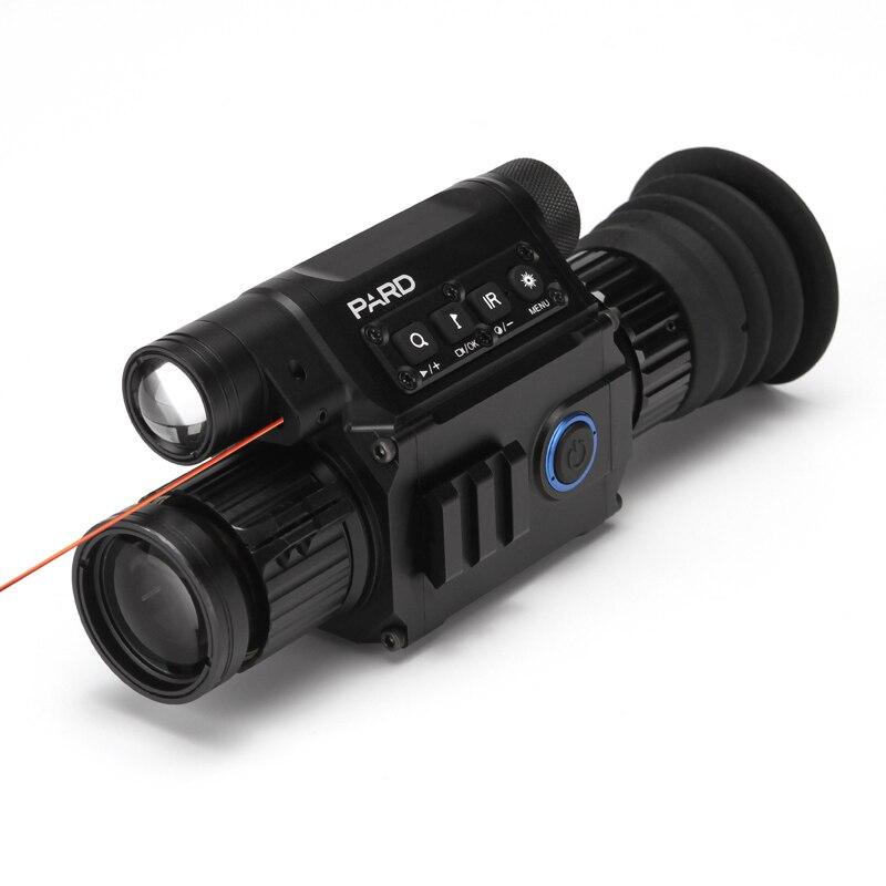 PARD NV008 200M CCD font b digital b font endscope Night vision Riflescope Standard Picatiny Night