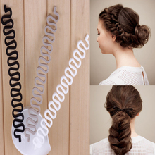 Ny Ankomst 1 PC Mode Hår Twist Braiding Styling Tool Kvinnor Girls Disk Device Hairpins Tillbehör