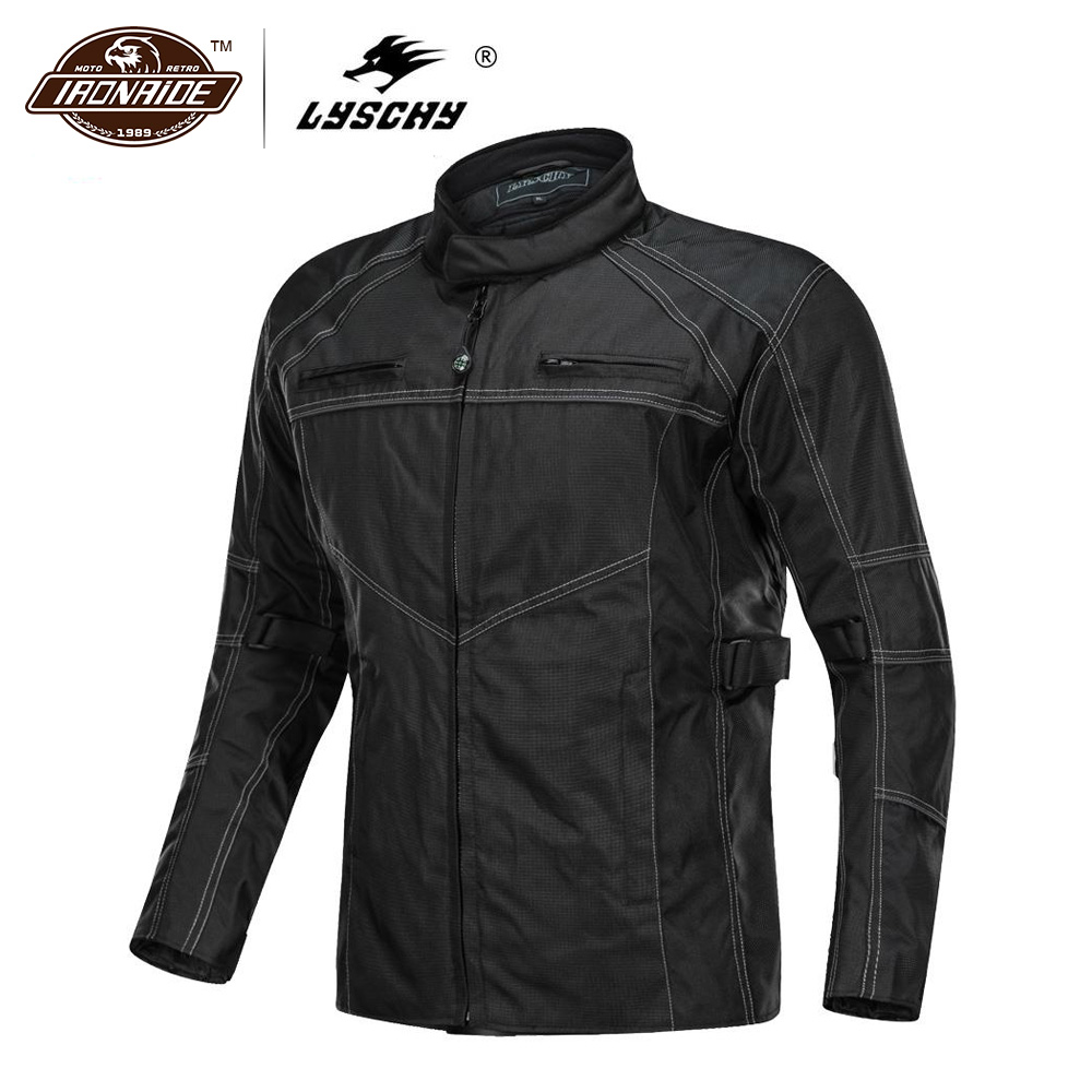 LYSCHY Motorcycle Jackets Men Motocross Motorbike Racing Chaqueta Moto Jacket Riding Waterfroof Breathable Reflective ClothesLYSCHY Motorcycle Jackets Men Motocross Motorbike Racing Chaqueta Moto Jacket Riding Waterfroof Breathable Reflective Clothes