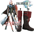 New Final Fantasy XIII lightning Eclair Farron Cosplay Boots Anime Shoes Custom Made