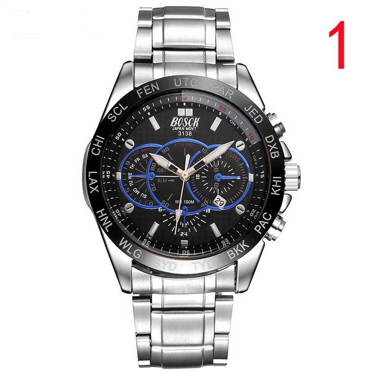 купить Men's watch men's quartz watch fashion tide 2018 new simple waterproof ultra-thin mesh belt student men's watch по цене 5979.5 рублей