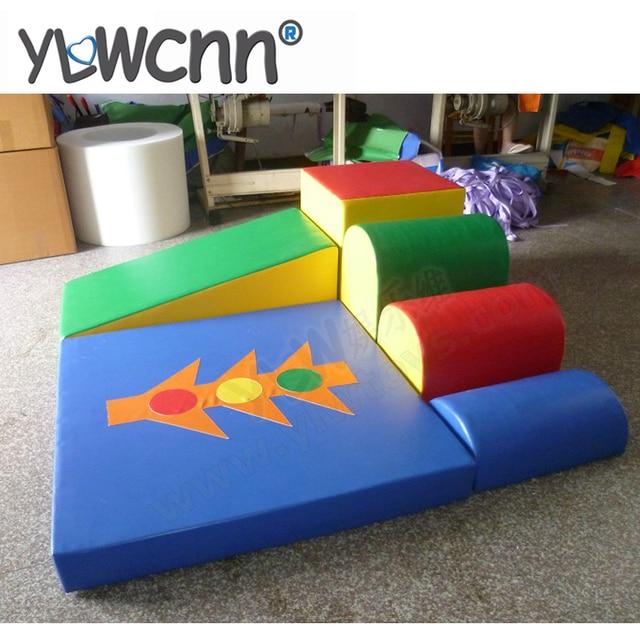 Ongekend Zacht speelgoed voor indoor speeltuin, kinderen klimmen NB-89