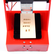 4000mw Laser engraving machine  mini working Area 70*70mm  DIY Print cutter laser engraver High Speed with Protective Glasses