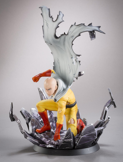 One Punch ManไซตามะPVCตุ๊กตาSensei One Punch Man Action Figure 24ซม.ของเล่น