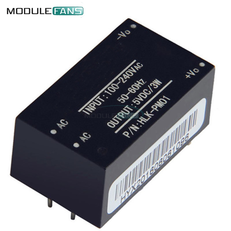 HLK-PM01 AC-DC Power Supply Module Intelligent Household Step-Down Switch Power Module Short Circuit Protection 220V To 5V