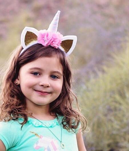 100pcs/lot fedex fast Cute Unicorn Flower Cat Ears Headbands Children Headwear Kids Hair Accessories