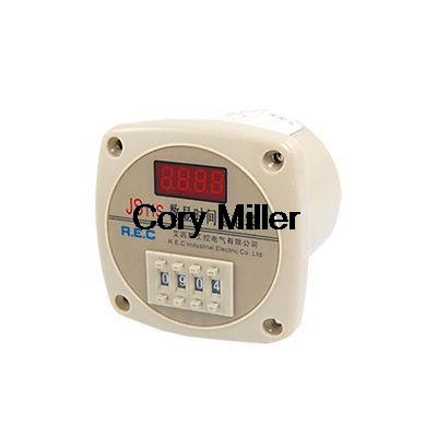AC 380V 9999 Second 13 Pins Digital Programmable Timer Relay JS11S 0 01 999 second 8 terminals digital timer programmable time relay