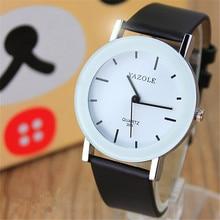 YAZOLE Creative Lovers Watches Leather Strap Bracelet Kids Quartz Watches Women Men Girl Boy Clock Relogio Feminino Masculino