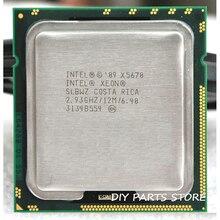 INTEL XONE X5670 CPU INTEL X5670 ПРОЦЕССОРА LGA 1366 Шесть основных 2.93 МГЦ LeveL2 12 М 6 ядро