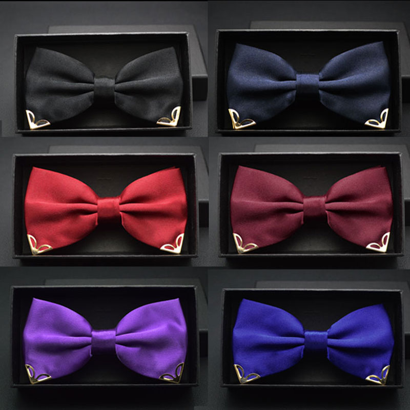Red bow tie for men s