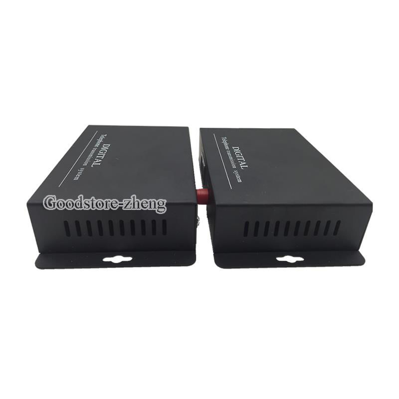 2 Channel Telephone Fiber Optical Media Converter with Ethernet 1 Pair