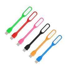 Lámpara LED USB de noche para portátil protección para los ojos, lectura, 1,2 W, Mini lámparas de noche para mesa, Notebook, Banco de energía, ordenadores