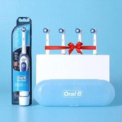 Echtes Oral B Sonic Elektrische Zahnbürste DB4010 Batterie Dreh Zahnbürste Precision Clean Braun Zähne Pinsel Kopf Erwachsene
