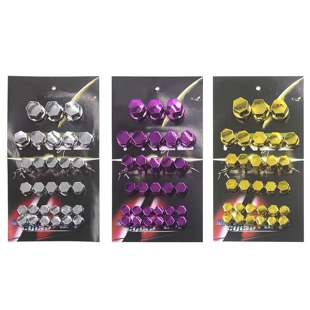1 Satz Von Motorrad Refit Zubehör Kopfstück Schraube Abdeckung Dekorative Teile Roller Schraube Kappe Einfach Zu Tragen Und Hohe Qualität