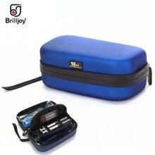 Brilljoy caja de refrigeración de insulina de alta calidad, bolsa portátil para viaje con dos geles de hielo, Pac