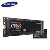 SAMSUNG 250GB 500GB 970 EVO NVMe M.2 SSD 1TB 2TB Solid State Hard Disk HDD disco duro disque dur TLC 2280 PCIe 3.0x4 1.2 M2 2280