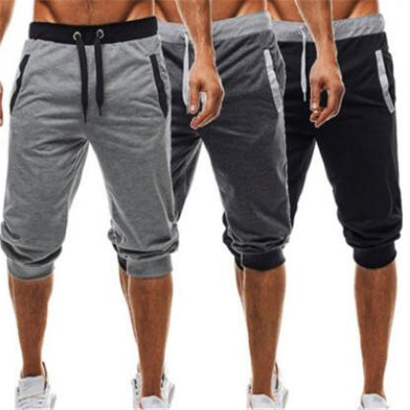 Cotton Men Full Sportswear Pants Casual Elastic Mens Fitness Workout Skinny Sweatpants Trousers Gyms Jogger