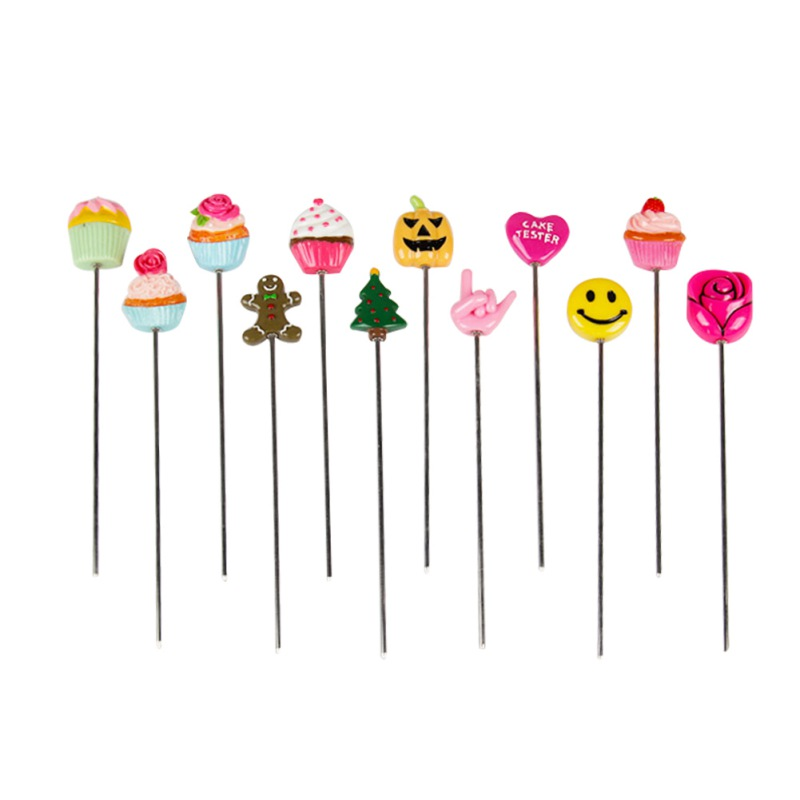 Cake Tester Stainless Steel With Cute Cupcake Shaped Handle