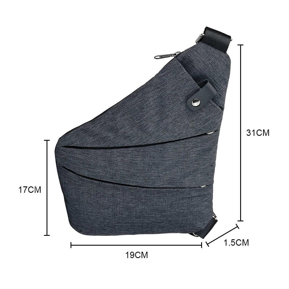 Maison Fabre Brand Black Summer Single Shoulder Bags Waterproof Nylon Crossbody Bags Male Messenger   Y1201