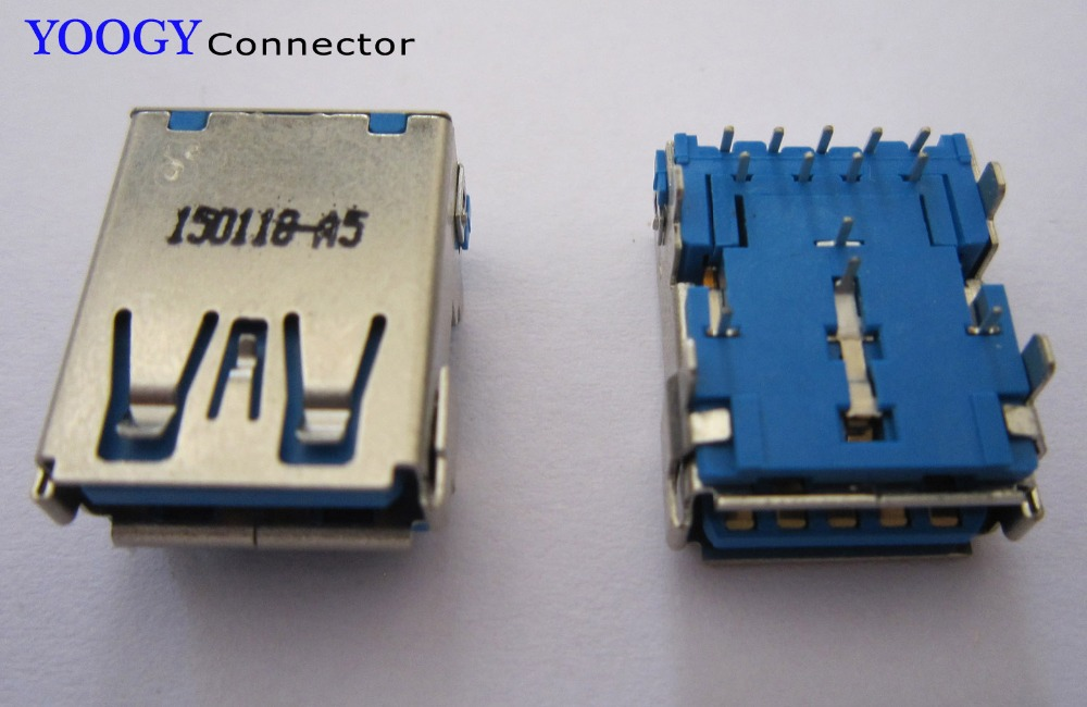 9pin+4pin USB3.0 Female connector, 13pin USB 3.0 socket, common use server and computer motherboard