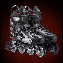 Cougar торможения adulto роликах хорошего patines раздвижные слалом роликовые коньки катание