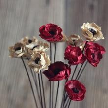 Buy poppy flower paper and get free shipping on aliexpress one piece corn dried flower decorative flowers for wedding mightylinksfo Gallery