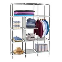 Высоконожная Нетканая ткань, собранная одежда, гардероб для домашней организации E5M1