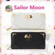 New Anime SAILOR Moon Tsukino Usagi คอสเพลย์อุปกรณ์เสริมผู้หญิงสาวดวงจันทร์ Luna สัญลักษณ์กระเป๋าถือ PU กระเป๋าสตางค์ซิปกระเป๋าเหรียญ