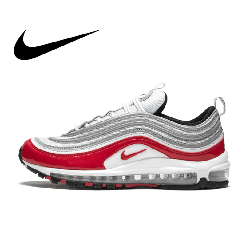 Original Authentic Nike Air Max 97 Womens Running Shoes Sneakers Sport Outdoor Designer Athletic 2018 New Arrival 921826-009Original Authentic Nike Air Max 97 Womens Running Shoes Sneakers Sport Outdoor Designer Athletic 2018 New Arrival 921826-009