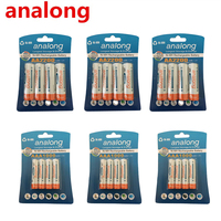 Original 12Pcs 1.2V High Capacity AA 2200mAh Batteries + 12Pcs AAA 1000mAh Batteries aa/aaa 3A Rechargeable Battery